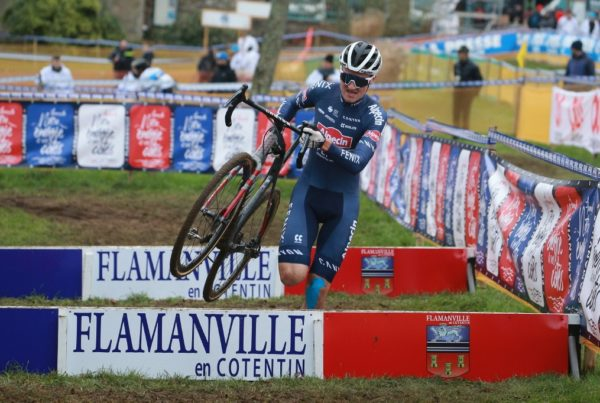 Antoine Benoist championnats de france de cyclocross Flamanville SKODA WE LOVE CYCLING