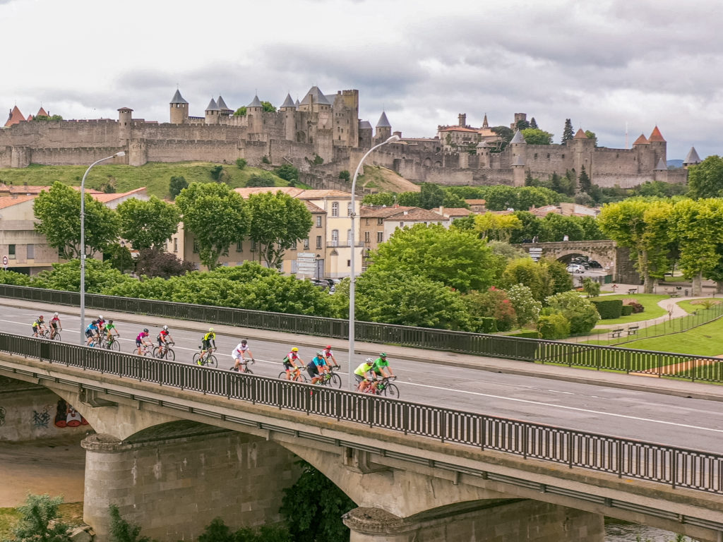 A la sortie de Carcassonne