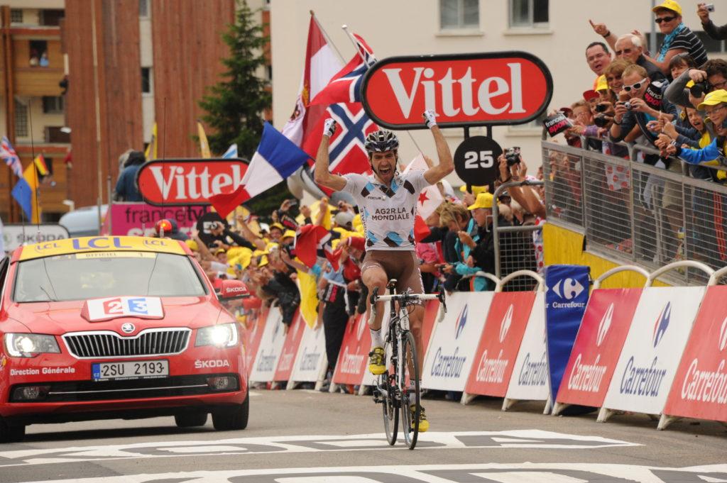 Être français, gagner une étape du Tour de France, le 14 juillet, à l'Alpe d'Huez