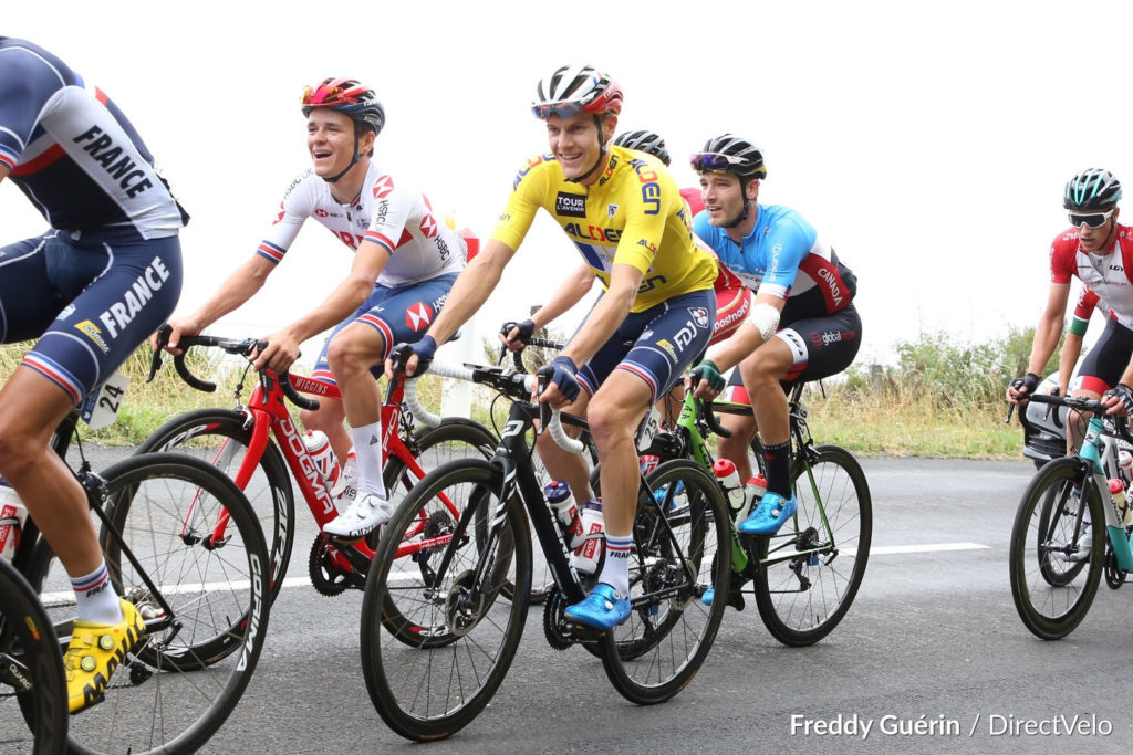 Le maillot jaune du Tour de l'Avenir