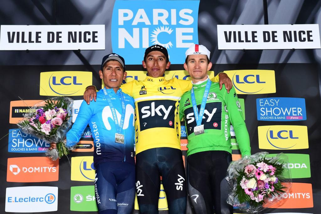 Podium de Paris-Nice