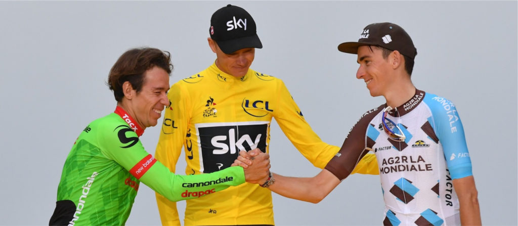 Podium du Tour de France 2017