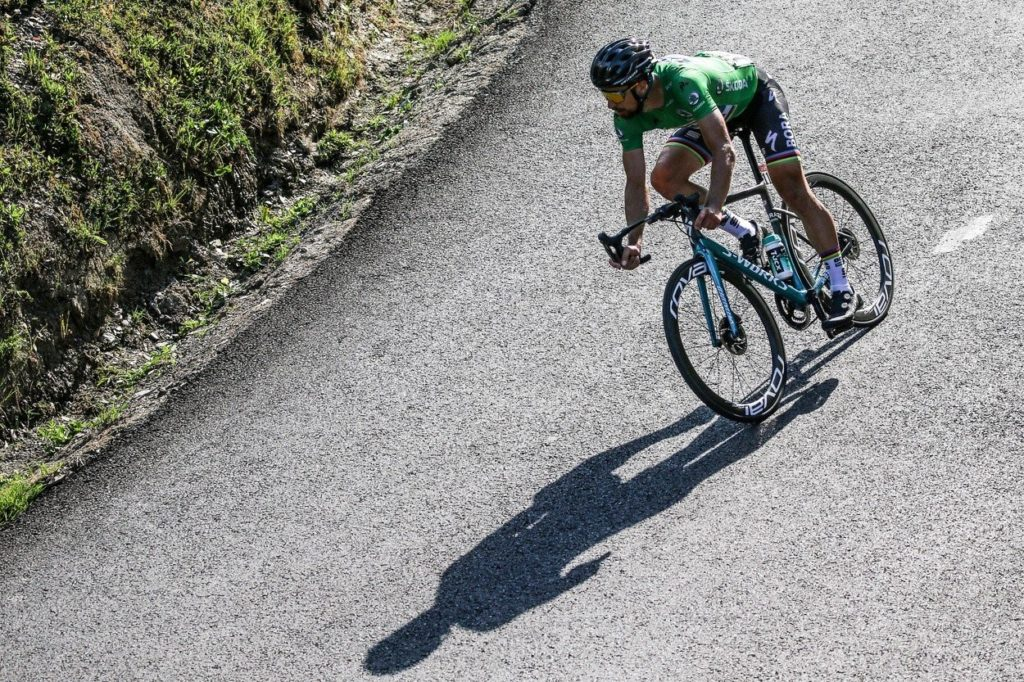 Peter Sagan lors du Tour de France 2018