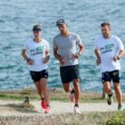 Vincent Luis et la Team SKODA en course a pied