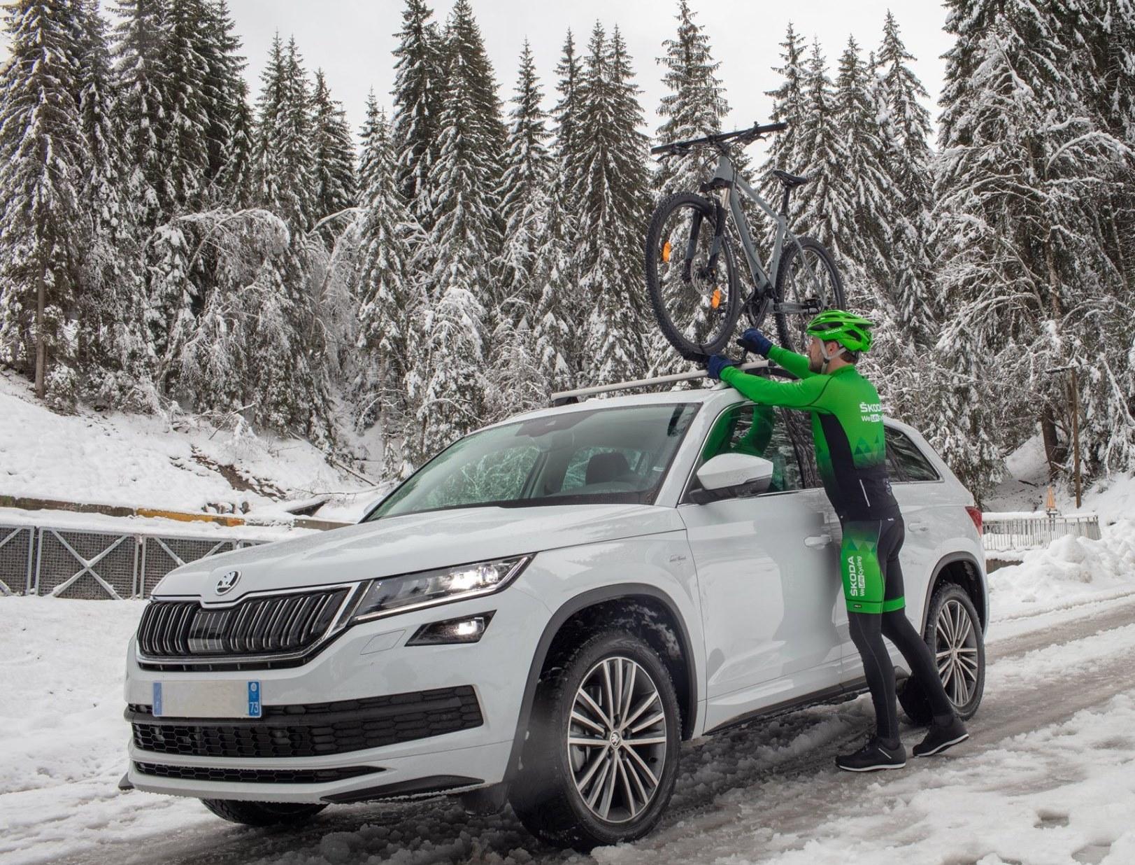 Entraînement cycliste hivernal – Plan de course fractionné