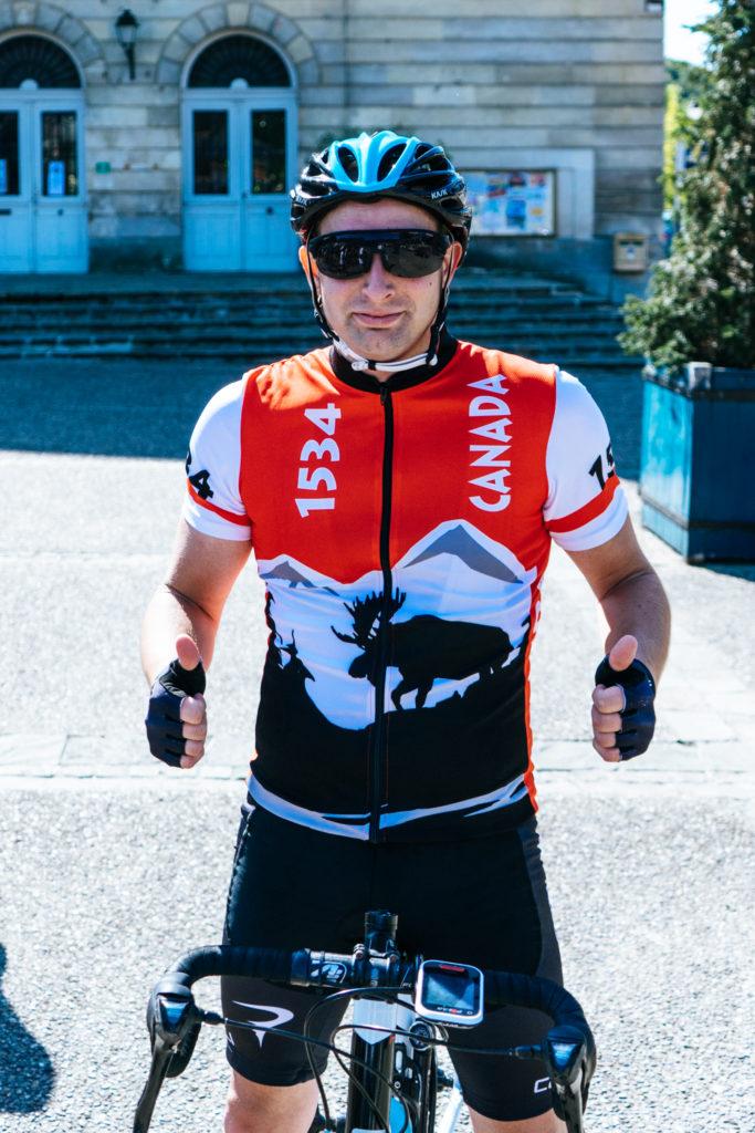 Pourquoi faire du vélo ? Et comment ? Portrait de Sébastien, qui nous explique pourquoi il roule dans les Clubs SKODA.
