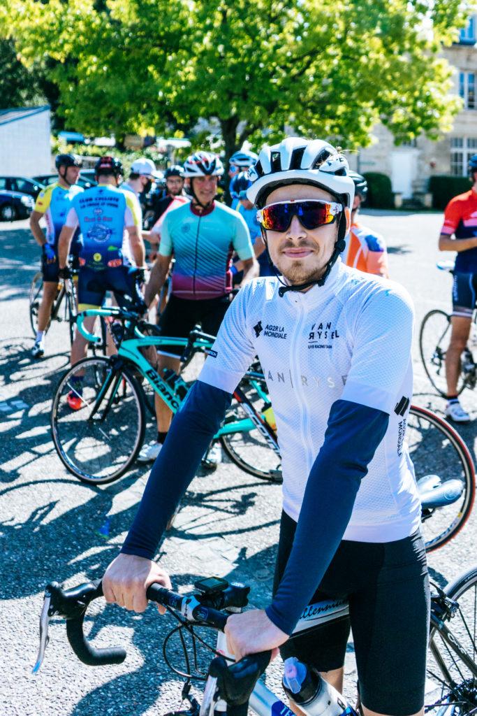 Pourquoi faire du vélo ? Et comment ? Portrait de Anthony, qui nous explique pourquoi il roule dans les Clubs SKODA.