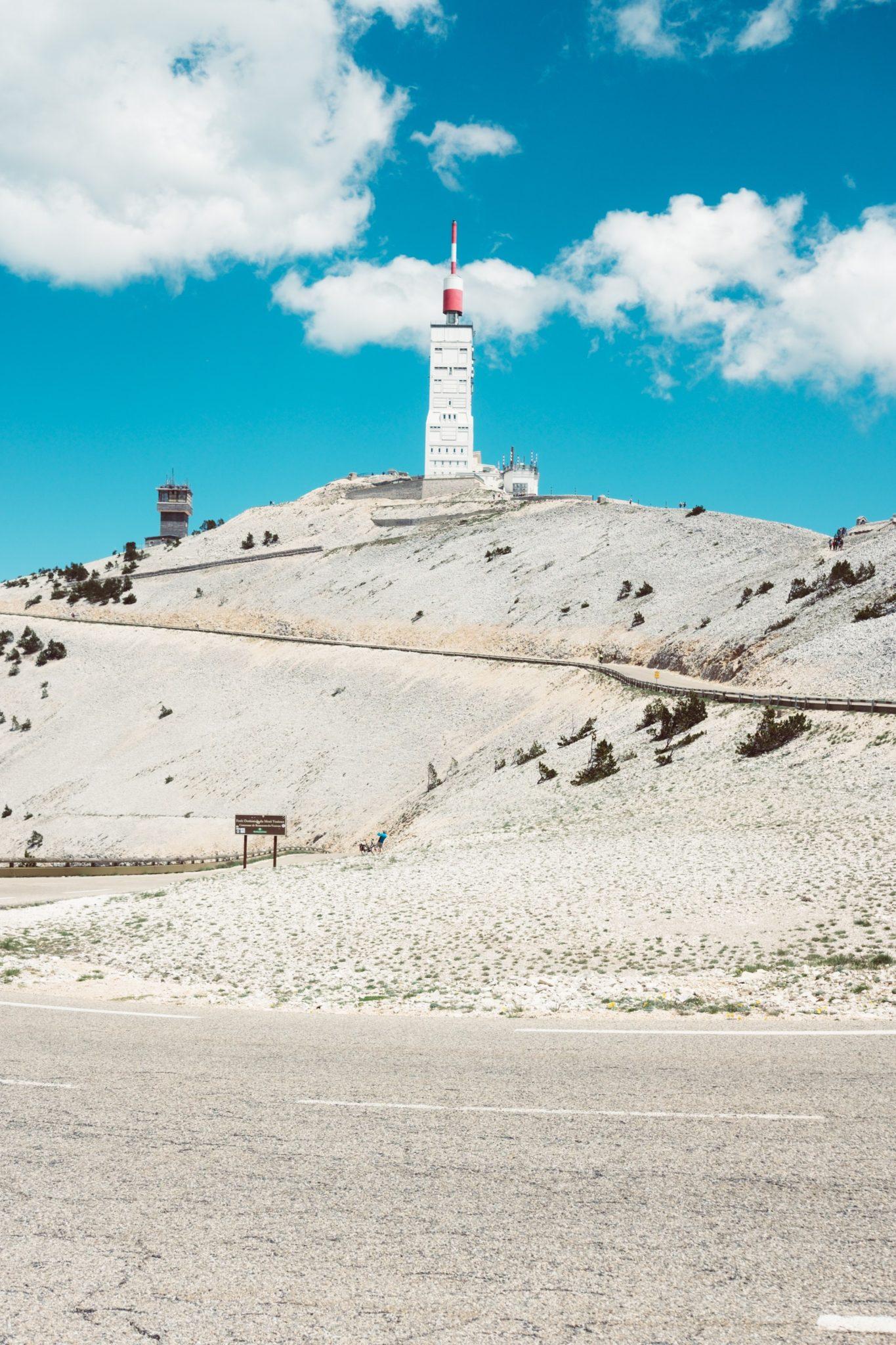 La vue du Mont Ventoux durant l'ascenscion