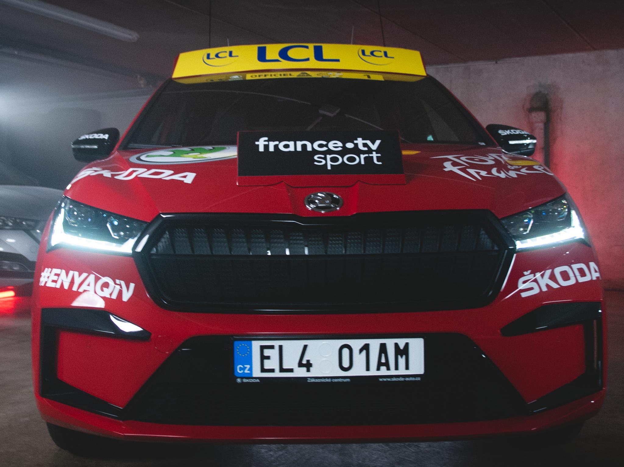 Le GDB s'infiltre dans le garage du Tour de France